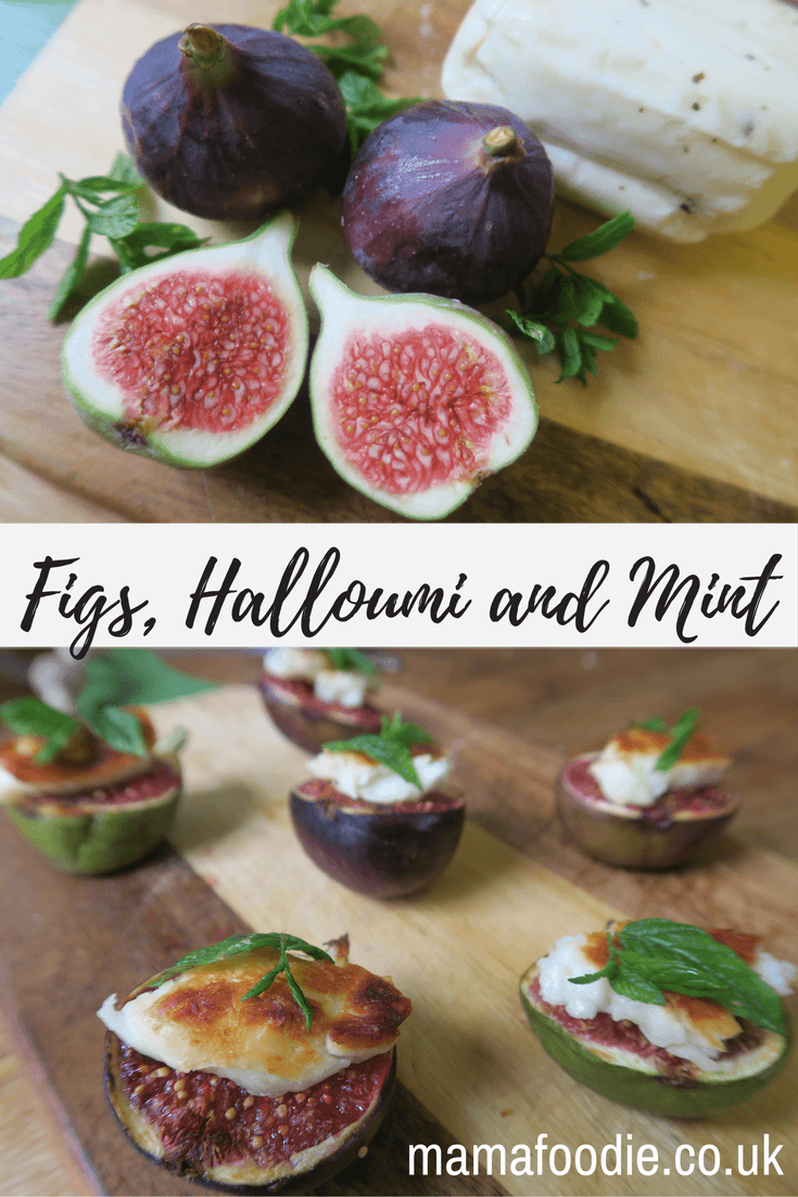 Halloumi Starter With Figs and Mint – Simple and Elegant Starter