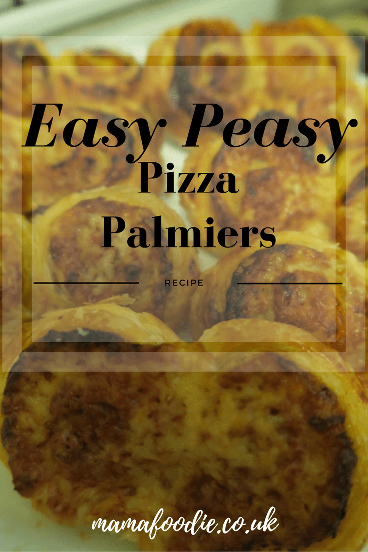 Easy Pizza Flavoured Palmiers Recipe