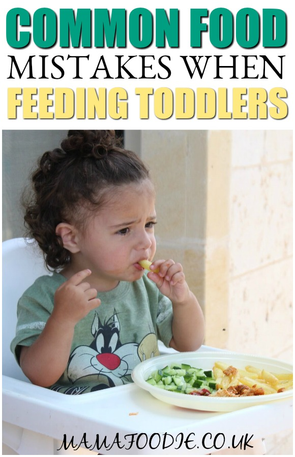 8 Common Food Mistakes When Feeding Toddlers