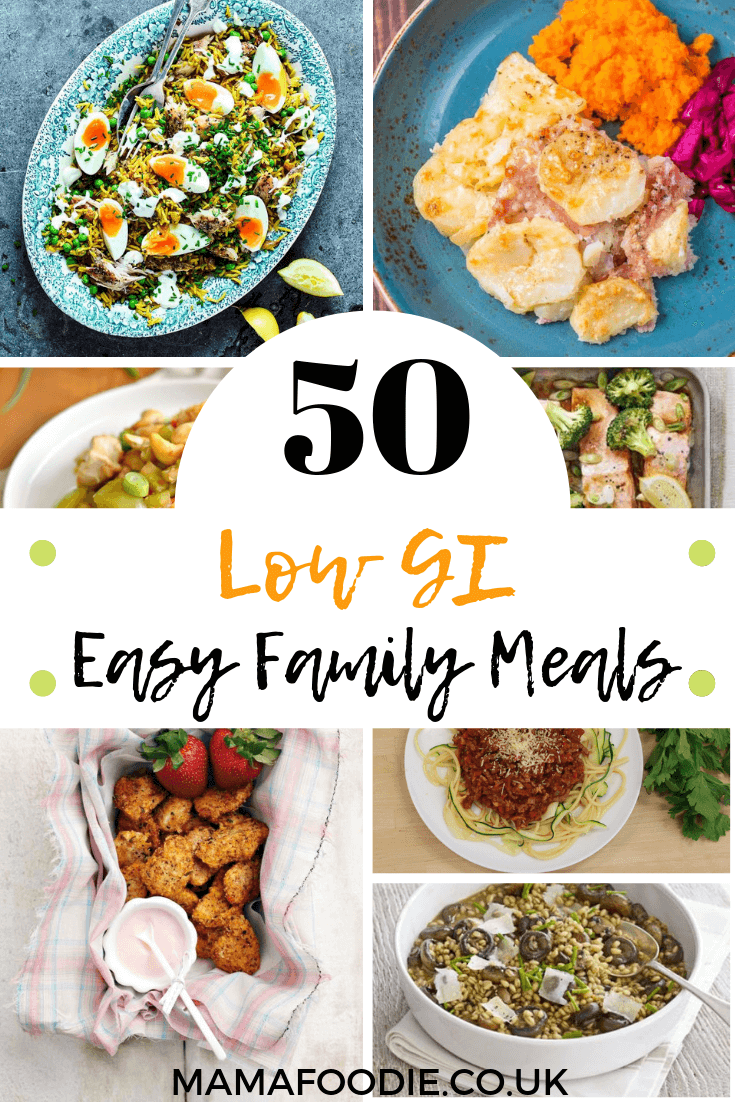 50 Low GI Easy Family Meals